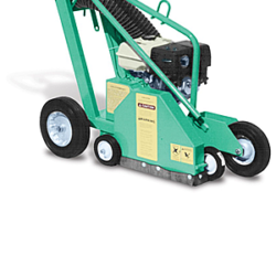 Gas powered roofing spud machine