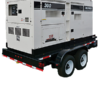50 KW Trailer Mounted Generator