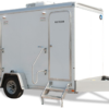 Mobile Restroom Trailer with (4) Stations