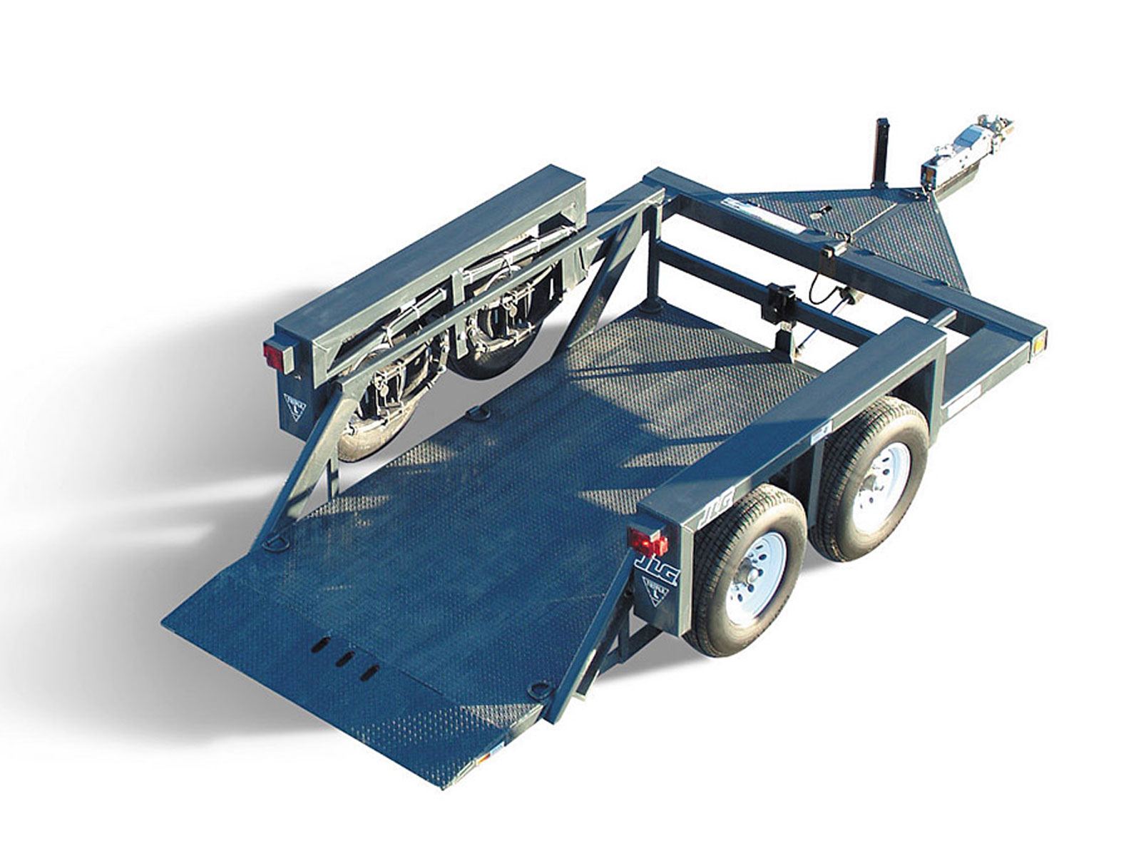14 Drop Deck Hydraulic Trailer For Rent