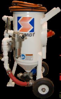150lb/300lb Schmidt Sand Blast Pots for Rent or Sale